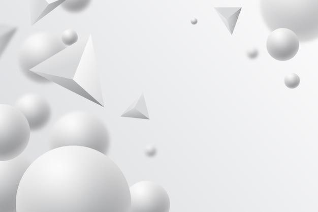 リアルな白いモノクロの背景