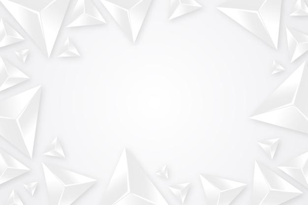 Realistic white monochrome background