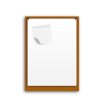 Realistic white paper
