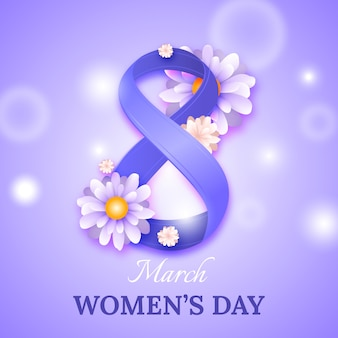Realistic women's day