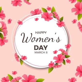 現実的な女性の日のコンセプト