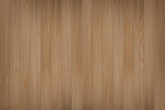 リアルな木の質感ナチュラルダークブラウン木製背景テーブルの床または壁面