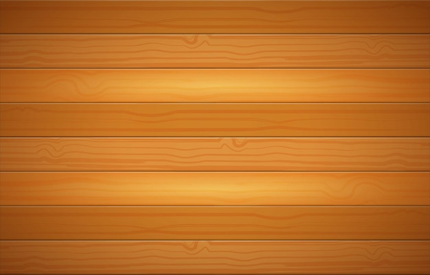 Realistic wooden background with textured