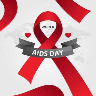 현실적인 세계 에이즈의 날