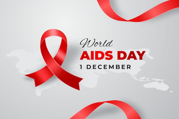 Realistic world aids day