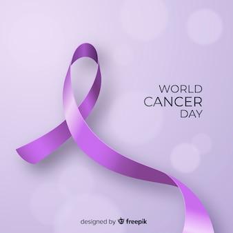 Priorità bassa di giorno del cancro del mondo realistico
