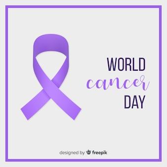 현실적인 세계 암의 날 배경