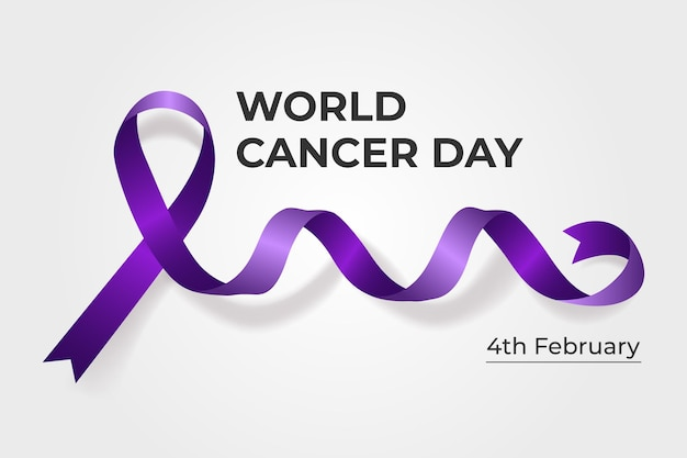 Realistic world cancer day