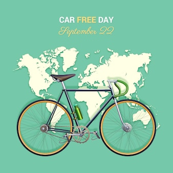 Realistic world car free day
