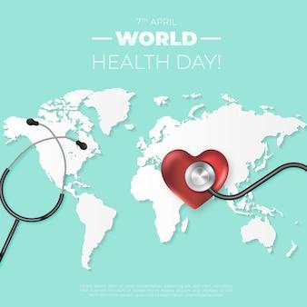 Реалистичный мир здоровья, день здоровья