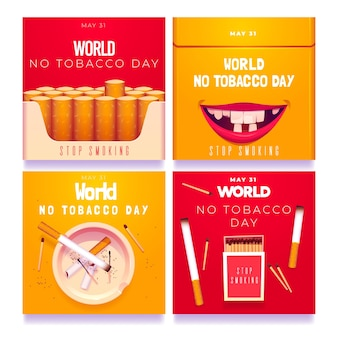 現実的な世界禁煙デーのinstagramの投稿コレクション