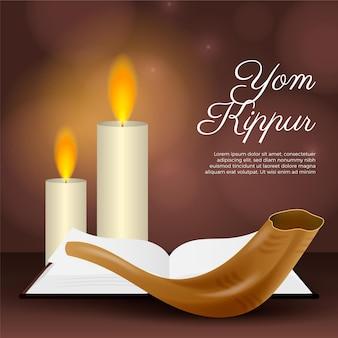 Realistic yom kippur concept
