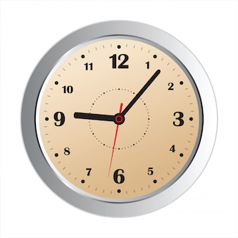 Realistick clock icon