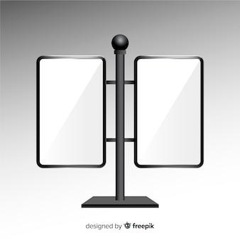 Realisticlightボックスの看板