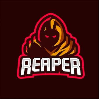 Жнец киберспорт логотип