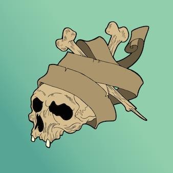 Rebel skull