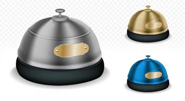 Reception bells multicolor set