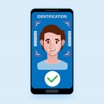 Recognition system access control technology biometrical identification