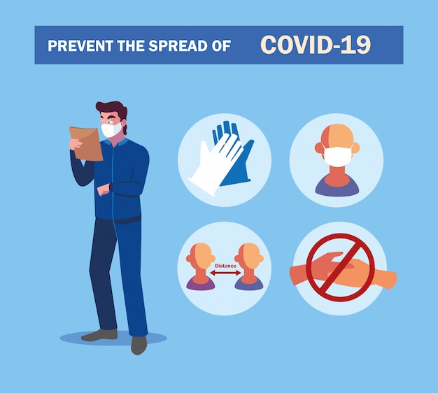 業界のオペレーターでcovidを防ぐための推奨事項