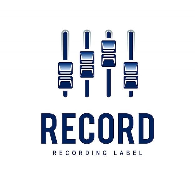 레코드 로고