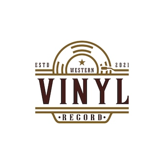 ビニールレコードでスタジオロゴを録音