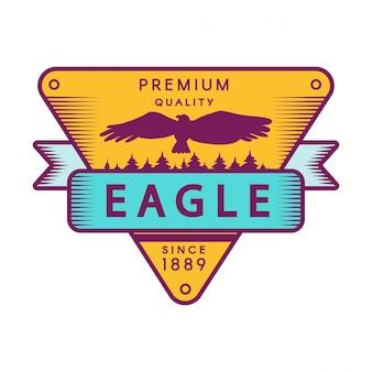 Recreational park color logo template