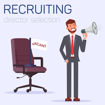 Recruiting and director selection, boss position