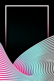 Прямоугольная рамка на абстрактном фоне