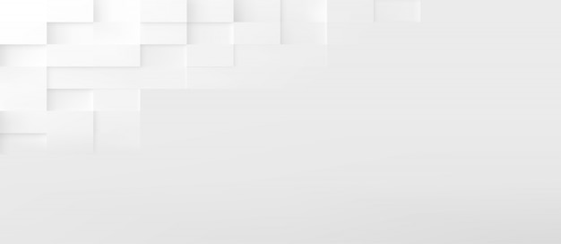 Rectangle shapes abstract technology background. 3d geometric minimalistic design