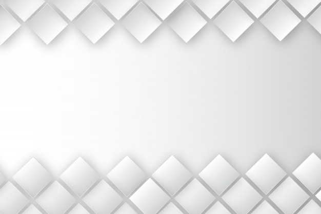 Rectangle white background template