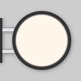 Прямоугольная вывеска, световой короб, вывеска, неоновый значок, черный металл, кафе, ресторан, открытый макет