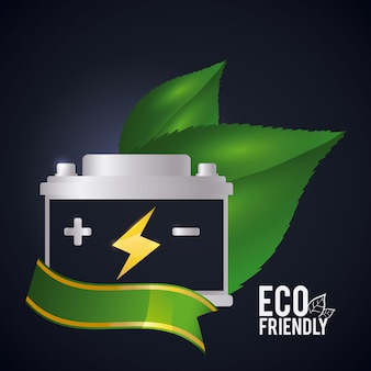 Recycle battery design.