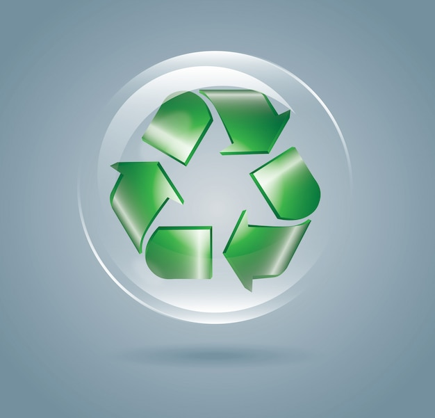 Recycle bubble