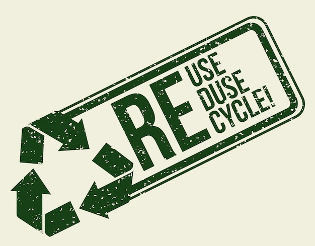 Recycle design.