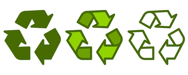 Recycle . recycling and rotation arrow