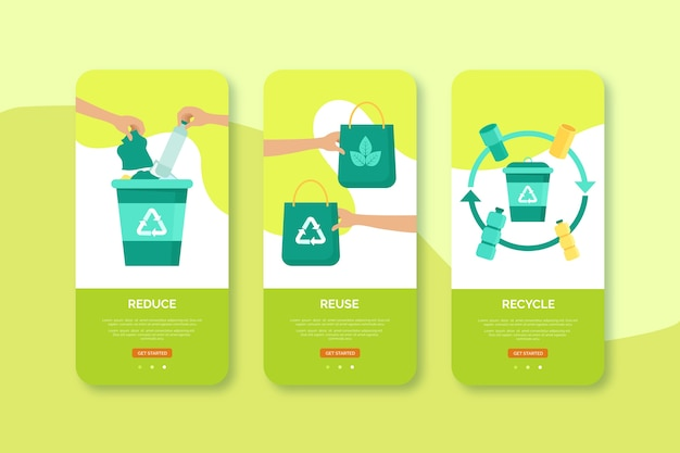Recycle and reuse mobile interface design