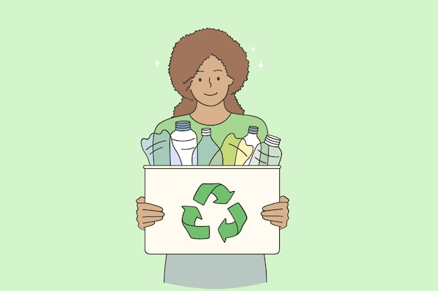 Recycling and sustainable concept