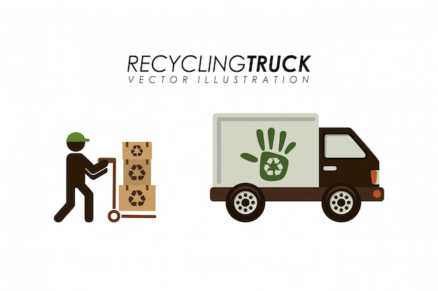 Recycling transport design