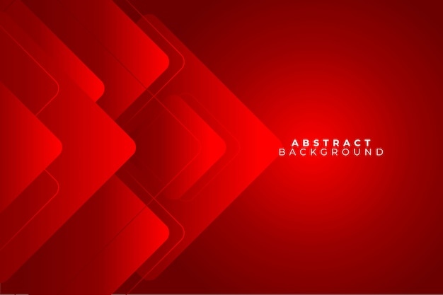 Red abstract background geometry