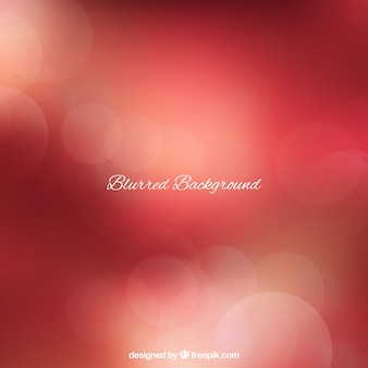 Red abstract blurred background