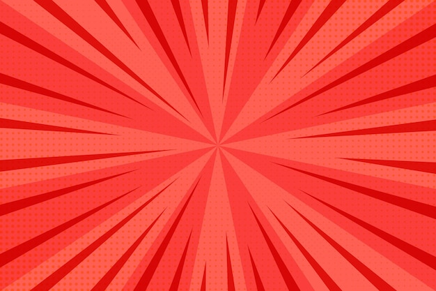 Red abstract halftone background