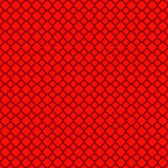 Красный абстрактный бесшовный узор с квадратной сеткой - векторный клипарт