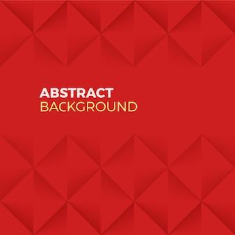 Forma astratta rossa e sfondo strutturato