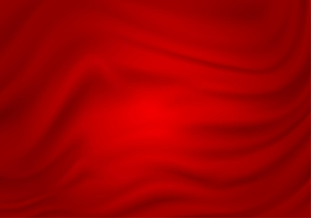 Красная абстрактная шелковая атласная ткань текстура текстильная занавеска ткань волна