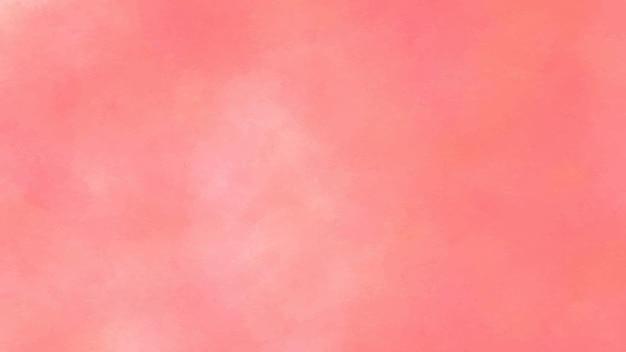 붉은 추상 수채화 배경