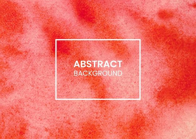 赤の抽象的な水彩画はねテクスチャ背景