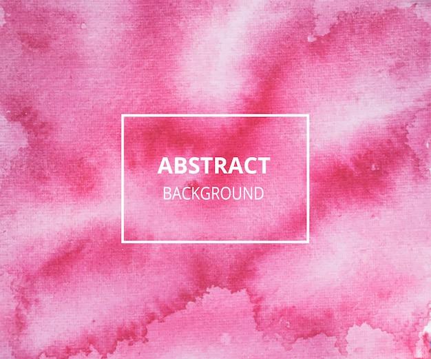 Красный абстрактный акварельный фон текстуры