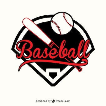 Бейсбол вектор шаблон