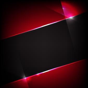 빨간색과 검은 색 그라디언트 메쉬