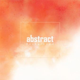 Красный и оранжевый акварель текстуру фона